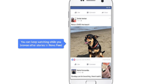 Facebook: i Video in Autoplay del News Feed saranno con il suono!