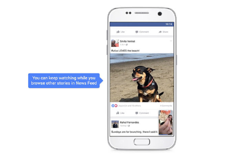 Myfacemood - Facebook i Video in Autoplay del News Feed saranno con il suono