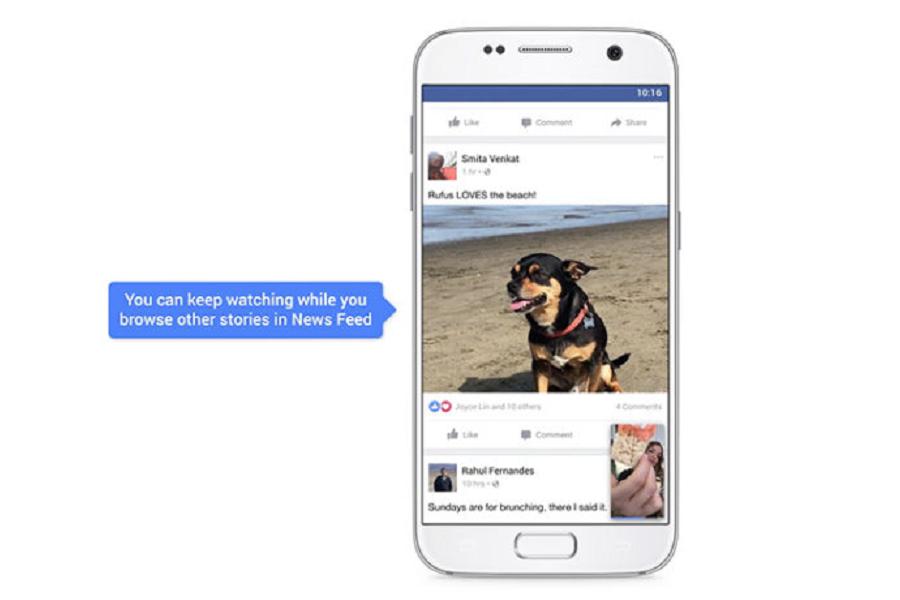 Myfacemood - Facebook i Video in Autoplay del News Feed saranno con il suono
