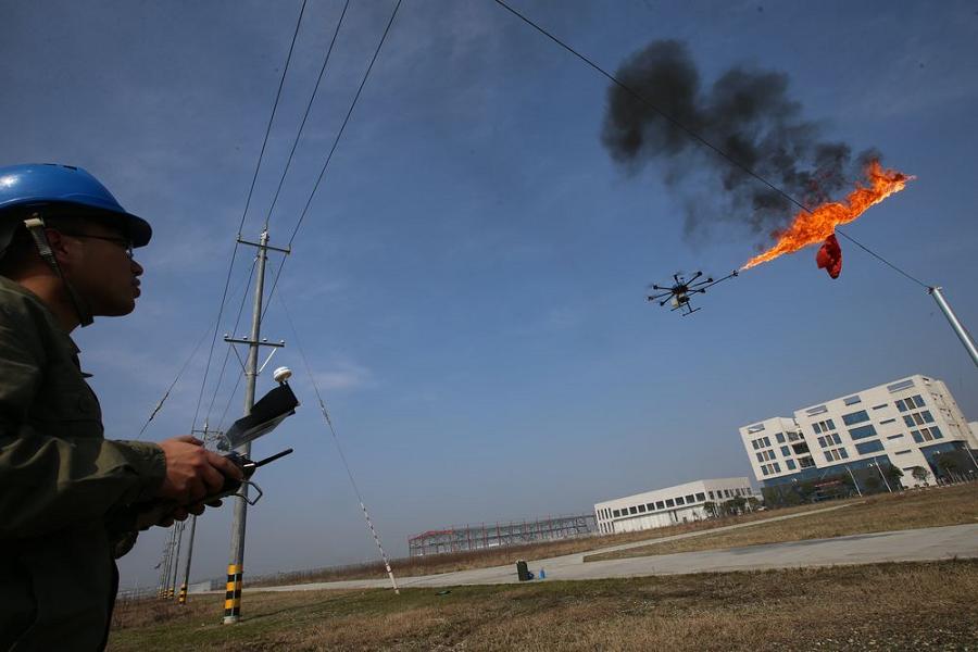 Myfacemood - Il drone sputa fuoco!