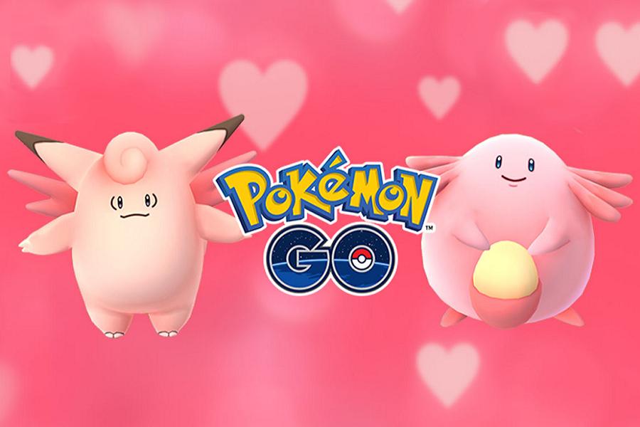 Myfacemood - Pokemon Go si veste di Rosa per San Valentino
