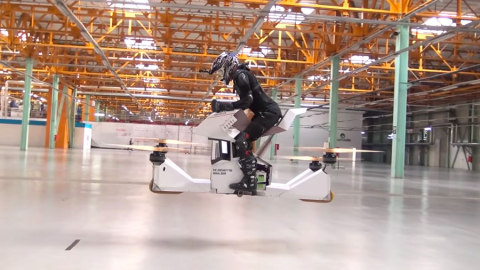 Scorpion-3: la prima hoverbike guidabile al mondo!