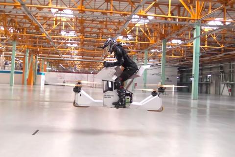 Scorpion-3: la prima hoverbike guidabile al mondo!