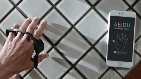 Tap Strap: la tastiera virtuale ovunque vi troviate!