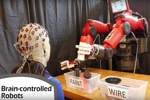 Controllare un robot con la mente!