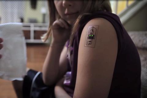 Tech Tats: il Tatuaggio biometrico!