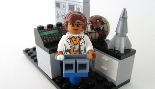 Myfacemood - Katherine Johnson Lego
