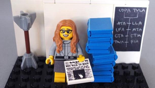 Myfacemood - Margaret Hamilton Lego