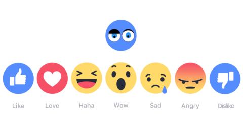 Messanger: le reazioni ai commenti sono in arrivo con il Dislike!
