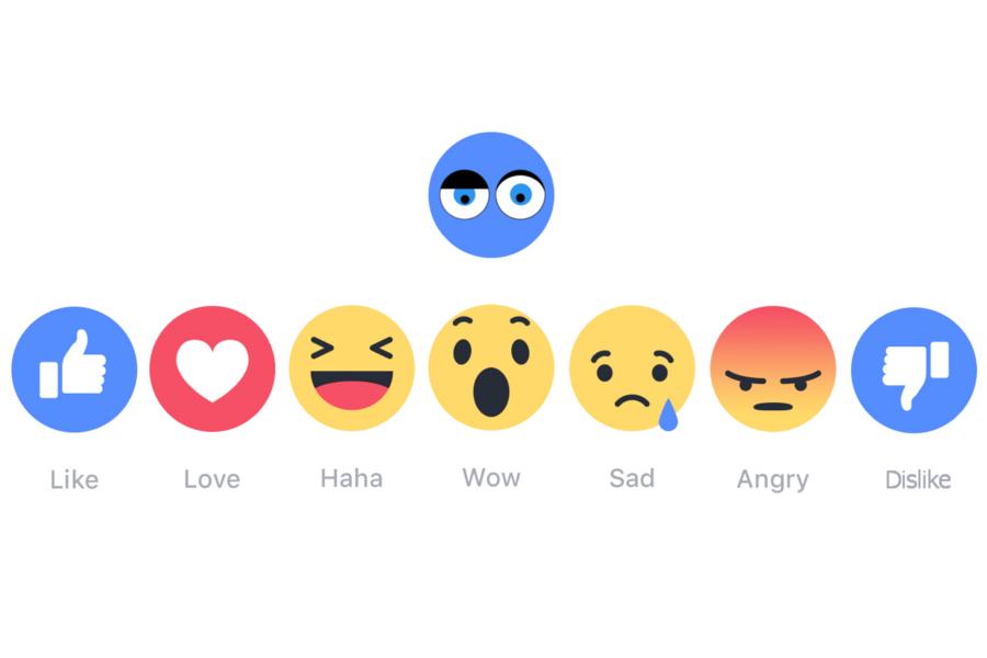 Myfacemood - Messenger le reazioni ai commenti sono in arrivo con il Dislike