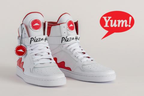 Pie Tops: ordina la Pizza con le scarpe