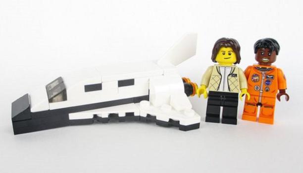 Myfacemood - Sally Ride e Mae Jemison Lego