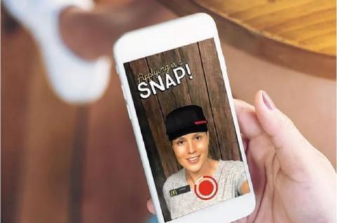 Con Snaplications, McDonald's recluterà i giovani attraverso Snapchat!