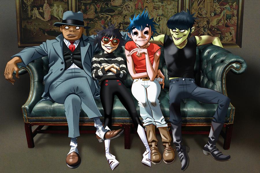Myfacemood - Gorillaz la band a cartoni animati sembra non fermarsi più!