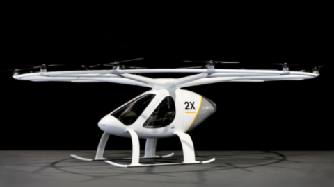 Il Volocopter 2X debutta in Germania!