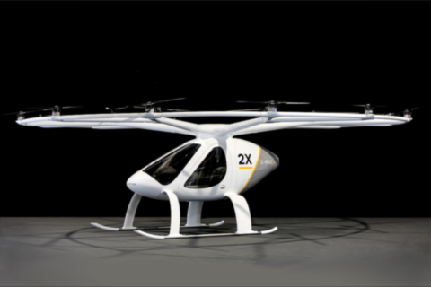 Il Volocopter 2X debutta in Germania!