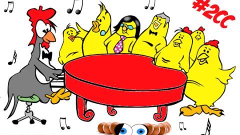 Jokgu 🐔, il pollo che suona il pianoforte!