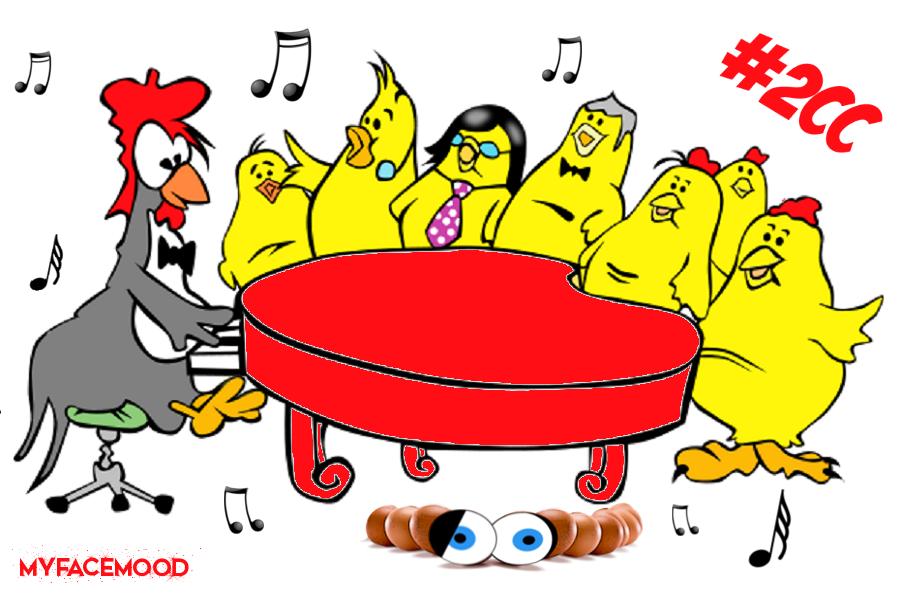 Myfacemood - Jokgu, un pollo che suona il pianoforte!