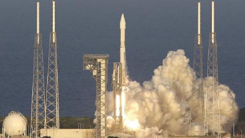 Nasa: il primo lancio in diretta streaming di un razzo filmato a 360 gradi!