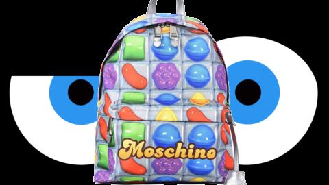 Non poteva mancare la Collezione di Moda di Candy Crush griffata Moschino!