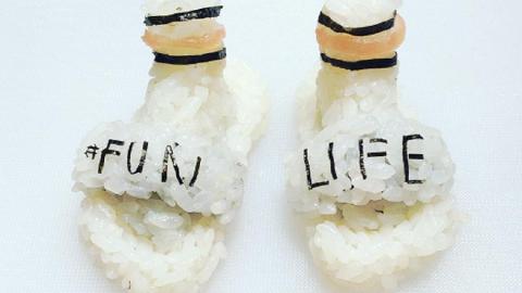 Per gli appassionati di cibo e di moda, nascono le scarpe sushi!