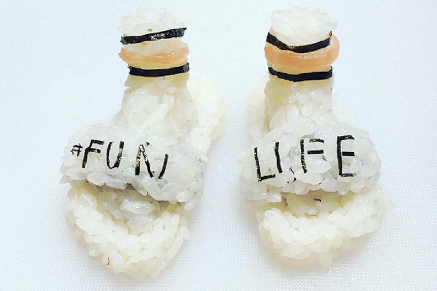 Myfacemood - Per gli appassionati di cibo e di moda, nascono le scarpe sushi!