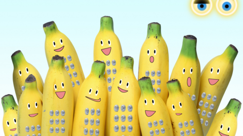 Adesso potrai chiamare i tuoi amici con il Telefono Banana! 🍌