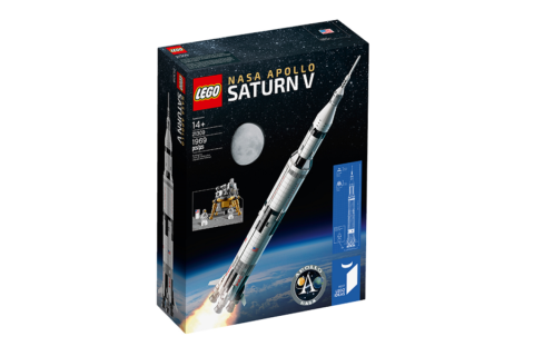 L' Apollo Saturn V composto da 1.969 pezzi, è il nuovo razzo della LEGO!