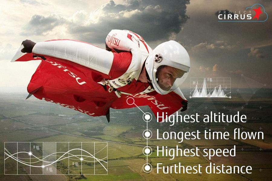 Myfacemood - Fraser Corsán tenta di battere 4 record del mondo lanciandosi da 12.800 metri con una tuta alare!