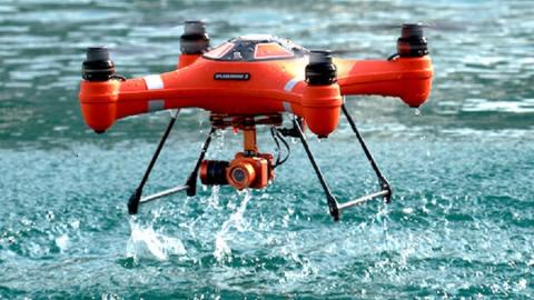 Il ritorno dell'anfibio Splash Drone 3!