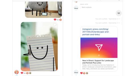 Instagram adesso permette l'invio di link nei messaggi diretti! 📩