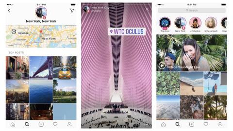Instagram aggiunge l'Archivio e la Ricerca delle Storie per Posizione e Hashtags