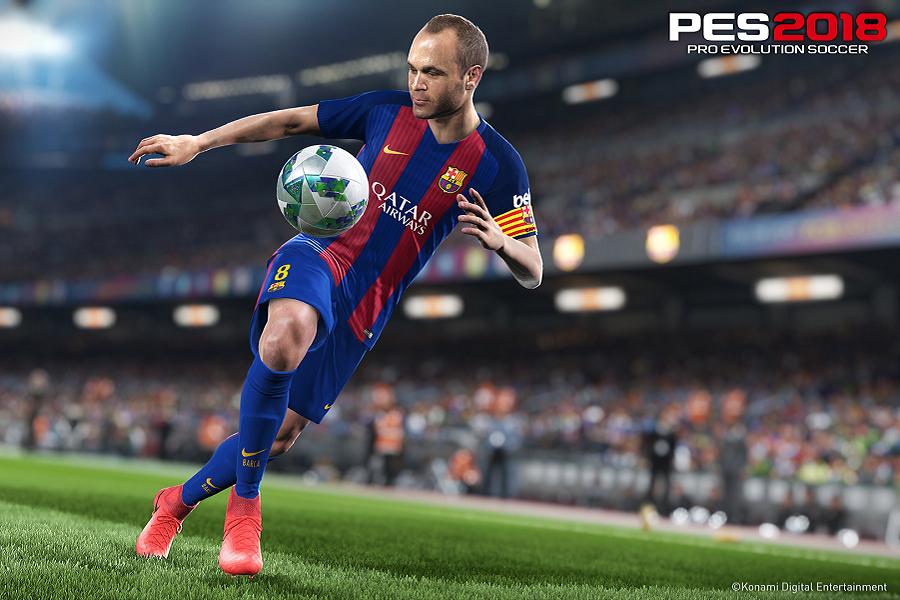 Myfacemood - Konami FIFA Evolution Soccer 2018 per Ps3, Xbox 360 e PC, uscirà il 12 settembre!