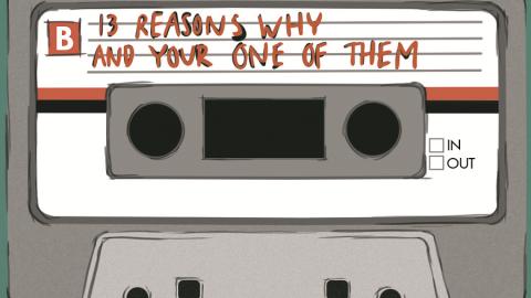 TH1RTEEN R3ASONS WHY ▶ La storia di Hannah Baker. Su Netflix!