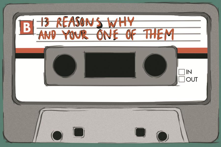 Myfacemood - TH1RTEEN R3ASONS WHY, la storia di Hannah Baker. Su Netflix!
