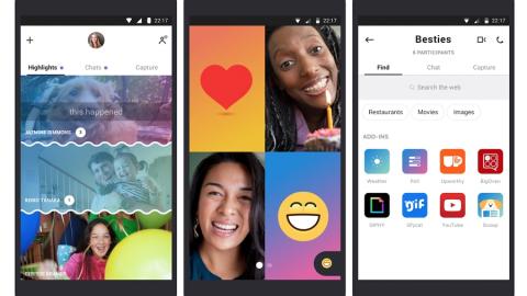 Anche Skype ha iniziato a copiare Snapchat!