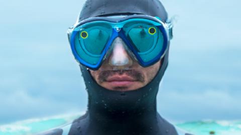 Adesso è possibile snappare le profondità dell'oceano con la SeaSeeker by Snapchat!