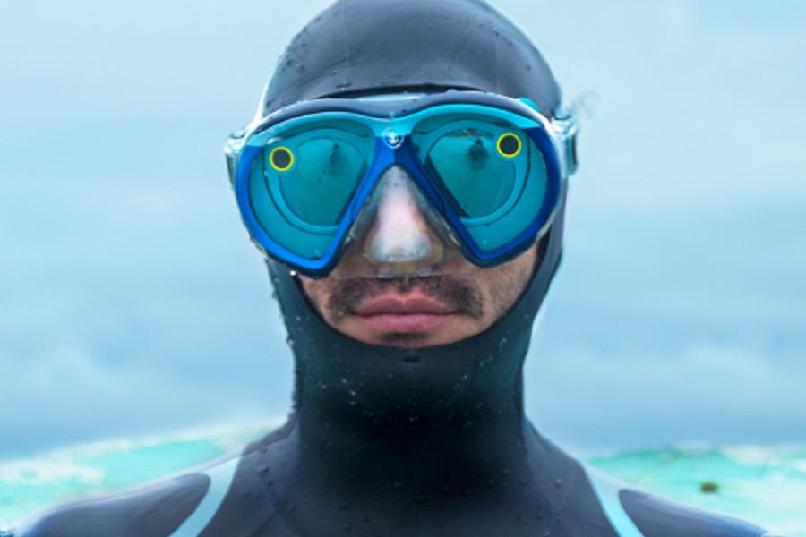 Myfacemood - Adesso è possibile snappare le profondità dell'oceano con la SeaSeeker by Snapchat!