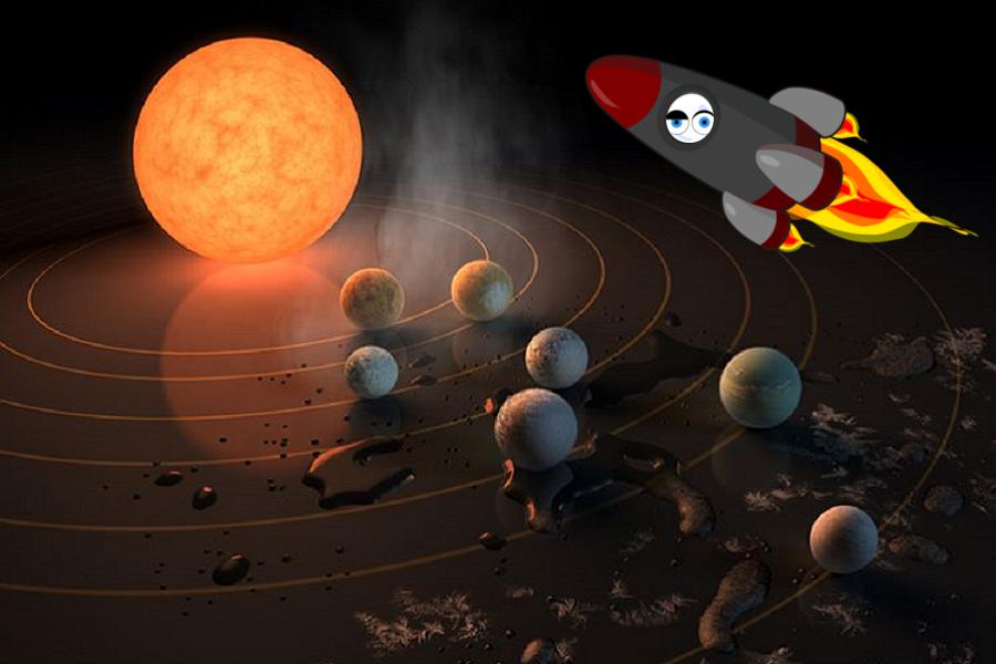 Myfacemood - La Nasa scopre 10 nuovi pianeti per la vita aliena!
