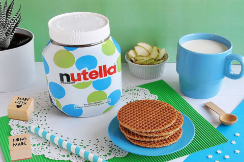 Un algoritmo ha progettato le nuove confezioni della Nutella!