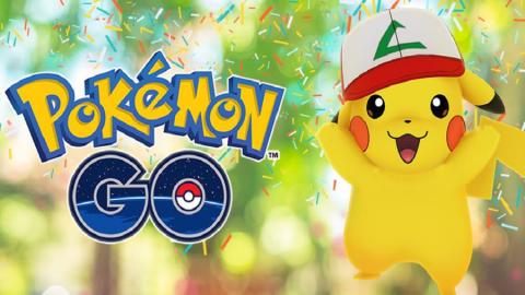 Pokémon Go celebra il suo primo compleanno dando a Pikachu il cappello di Ash!