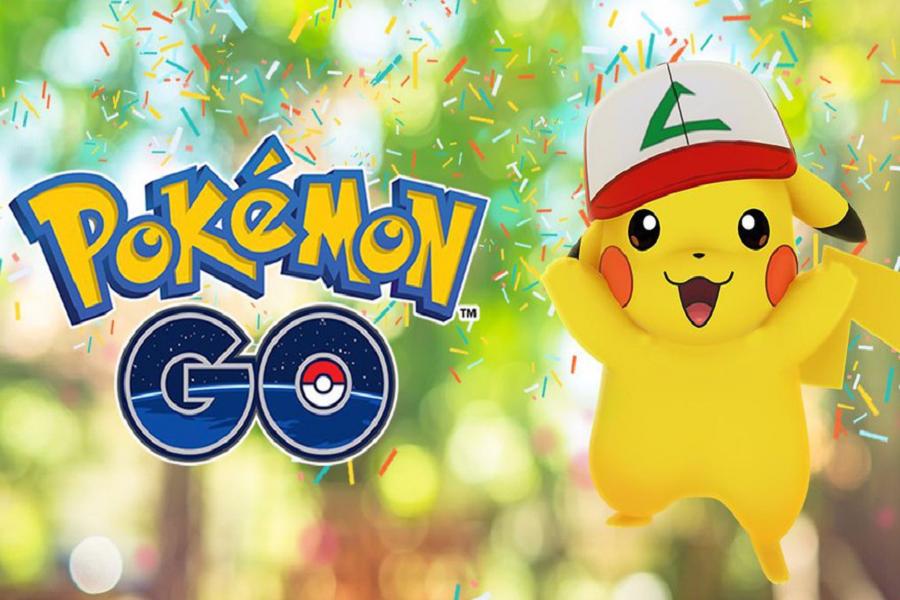 Myfacemood - Pokémon Go celebra il suo primo compleanno dando a Pikachu un cappello di Ash