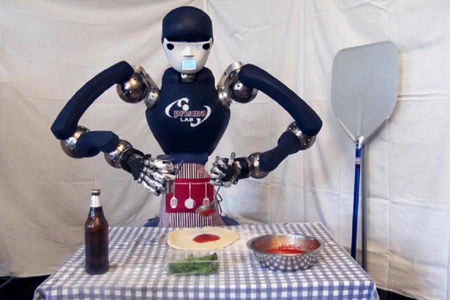 Il Robot pizzaiolo!