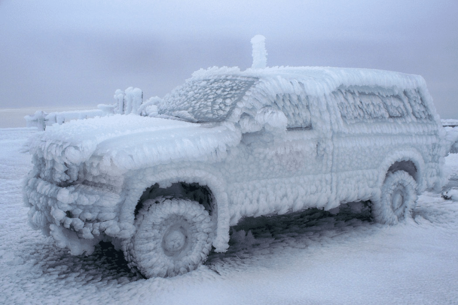 Myfacemood - Temperatura sul monte Washington
